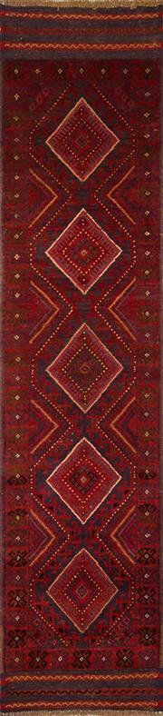 Sale 8455C - Lot 20 - Persian Baluchi Runner 265cm x 62cm