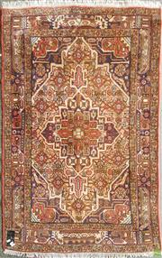 Sale 8601 - Lot 1531 - Persian Hand Knotted Woollen Rug (142 x 100cm)