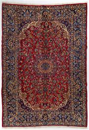 Sale 8760C - Lot 4 - A Persian Najafabad From Isfahan Region 100% Wool Pile On Cotton Foundation, 405 x 285cm