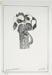 Sale 8821A - Lot 5026 - Charles Blackman (1918 - 2018) - Untitled (Still Life), 2009 36.5 x 25cm