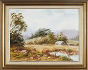 Sale 8838A - Lot 5120 - John Francis Hingerty (1930 - ) - Mullumbimby Landscape 44.5 x 59.5cm