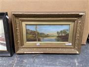 Sale 9072 - Lot 2093 - A C19th English Country Scene Painting