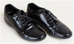 Sale 9120K - Lot 86 - A pair of mens Prada dress shoes; size 71/2 4E 2297 in original box.