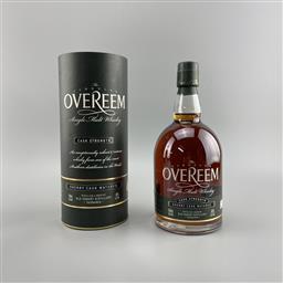 Sale 9165 - Lot 687B - Old Hobart Distillery Overeem Cask Strength Single Sherry Cask Single Malt Tasmanian Whisky - Cask no. OHD-086, bottle 59/125, 60%...
