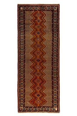 Sale 9185C - Lot 6 - PERSIAN YALAMEH, 105X270CM, HANDSPUN WOOL