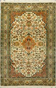 Sale 8380C - Lot 49 - Kashmiri Silk 125cm x 81cm