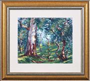 Sale 8411A - Lot 5062 - Jessie MacQueen Mackintosh (1893 - 1957) - Untitled (Landscape) 29 x 34.5cm
