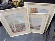 Sale 8437 - Lot 2066 - Group of (3) Framed Albert Namatjira Decorative Prints