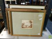 Sale 8544 - Lot 2084 - Various Artists (5 works) including Original Drawings and Prints (framed, various sizes)