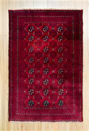 Sale 8559C - Lot 75 - Afghan Turkman 136cm x 92cm