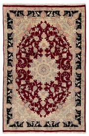 Sale 8715C - Lot 118 - A Persian Tabriz Fine Wool And Silk , 231 x 150cm