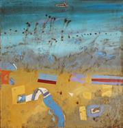Sale 8916 - Lot 540 - Robert Juniper (1929 - 2012) - Jungar Creek, 1977 105.5 x 101.5 cm