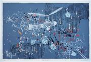 Sale 8938A - Lot 5052 - Basil Hadley (1940 - 2006) - Wall Theme VII, 1978 65 x 97 cm