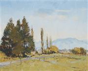 Sale 9038 - Lot 508 - Colin Parker (1941 - ) - North Coast Landscape, 1966 40 x 50 cm (frame: 54 x 64 x 5 cm)