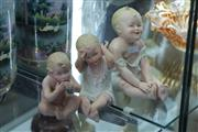 Sale 8346 - Lot 53 - Early German Bisque Piano Babies (Minute Chips)