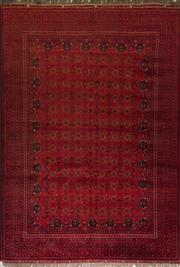 Sale 8455C - Lot 22 - Afghan Qunduzi 300cm x 200cm