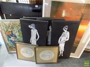 Sale 8513 - Lot 2094 - Group of Assorted Artworks Inc Original Paintings & Poster Of Sydney 1988