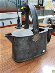 Sale 8625 - Lot 1038 - Vintage Metal Oil Can -
