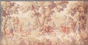 Sale 8676 - Lot 1011 - Unframed Tapestry depicting Hunting Scene