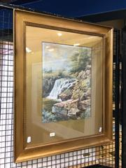 Sale 8754 - Lot 2041 - Artist Unknown - Early C20th watercolour, 68.5 x 56cm (frame) -