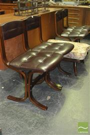 Sale 8326 - Lot 1028 - Set of Four Danish Deluxe Dining Chairs