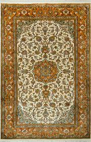 Sale 8380C - Lot 50 - kashmiri Silk 125cm x 185cm