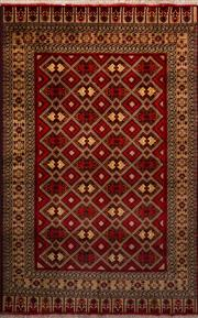 Sale 8455C - Lot 23 - Afghan Belgic 240cm x 150cm
