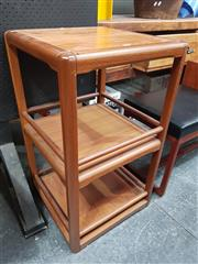 Sale 8839 - Lot 1013 - Quality Danish Teak Revolving Dumbwaiter