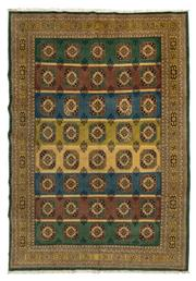 Sale 8715C - Lot 76 - A Persian Turkaman, Wool On Cotton Foundation Classed As Tribal Rugs, 295 x 204cm