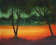 Sale 8870A - Lot 528 - Kevin Charles (Pro) Hart (1928 - 2006) - Landscape 24 x 29.5 cm