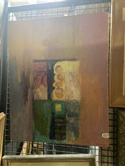Sale 8895 - Lot 2021 - Artist Unknown - Untitled, 1996, oil on board, signed Marina lower right