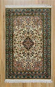 Sale 8559C - Lot 78 - Kashmiri Silk 126cm x 80cm