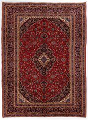 Sale 8760C - Lot 17 - A Persian Kashan From Isfahan Region 100% Wool Pile On Cotton Foundation, 395 x 293cm