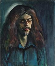 Sale 8938 - Lot 562 - John Perceval (1923 - 2000) - The Musician, 1964 61 x 50.5 cm