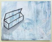 Sale 8677B - Lot 566 - Marly Boyd, Untitled,  acrylic on canvas 120 x 150cm