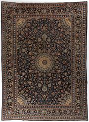 Sale 8740C - Lot 27 - A Persian Kashan From Isfahan Region 100% Wool Pile On Cotton Foundation, 396 x 287cm