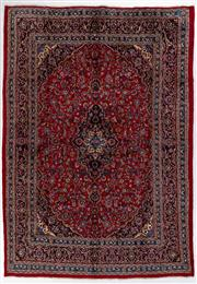 Sale 8760C - Lot 18 - A Persian Najafabad From Isfahan Region 100% Wool Pile On Cotton Foundation, 406 x 285cm