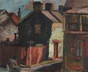 Sale 8867A - Lot 5070 - Artist Unknown - Street Scene 50 x 59.5 cm