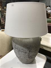 Sale 8893 - Lot 1046 - Cast Concrete Table Lamp