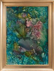 Sale 9071H - Lot 7 - Judy Chapman - Abstract 75cm x 54cm