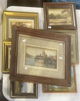 Sale 9103 - Lot 2091 - Collection of Art Works incl. J. Croft; T. Groves, etc, various sizes & Media