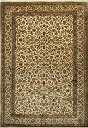 Sale 8380C - Lot 53 - Super Fine Kashmiri Silk 187cm x 278cm