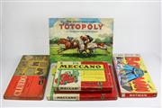 Sale 8384 - Lot 94 - Vintage Meccano Outfits 5 & 6 with Board Games incl. Cluedo
