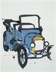 Sale 8537 - Lot 2010 - Jasper Knight (1978 - ) - 1916 Model T Ford, 2009 65 x 50cm
