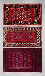 Sale 8499C - Lot 57 - 3 x Persian Baluchi 93cm x 57cm
