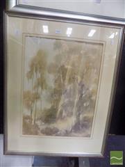 Sale 8518 - Lot 2057 - Brian McGuffie - Studio: Fawkner, VIC 51.5 x 38.5cm