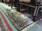 Sale 8657 - Lot 1090 - Large Persian Silk Rug