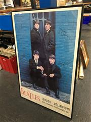 Sale 8674 - Lot 2099 - The Beatles at London Palladium, Reproduction Poster 95.5 x 65cm