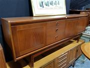 Sale 8765 - Lot 1078 - Quality 1960s Teak Sideboard