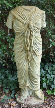 Sale 8950G - Lot 13 - Classic composite statue with aged bronzed patina.  1.53m Height 60cm wide